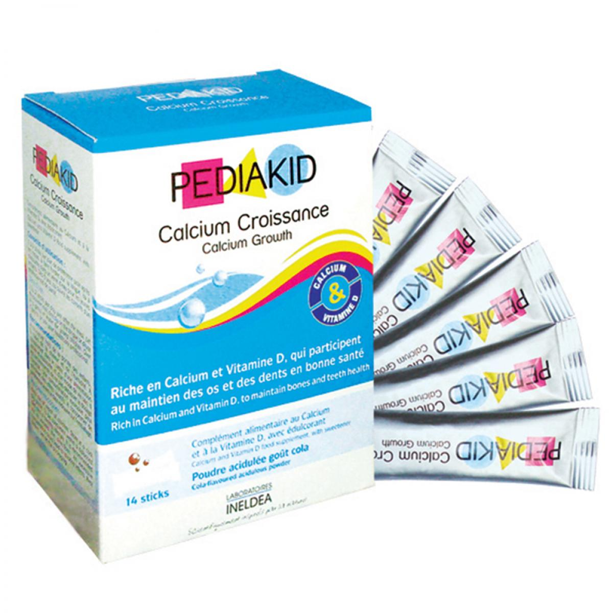 PEDIAKID CANXI CROISSANCE/PEDIAKID CANXI TĂNG TRƯỞNG